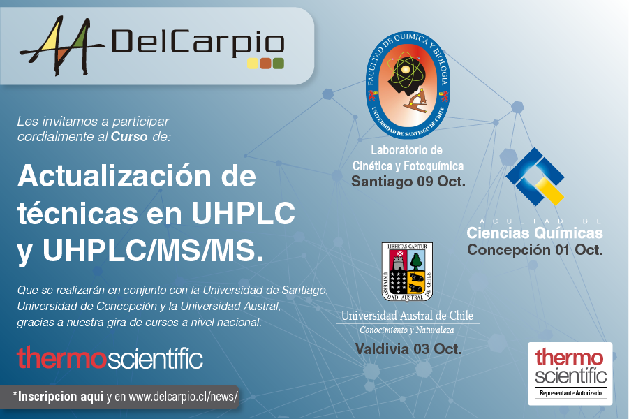 Actualización de Técnicas en UHPLC Y UHPLC/MS/MS